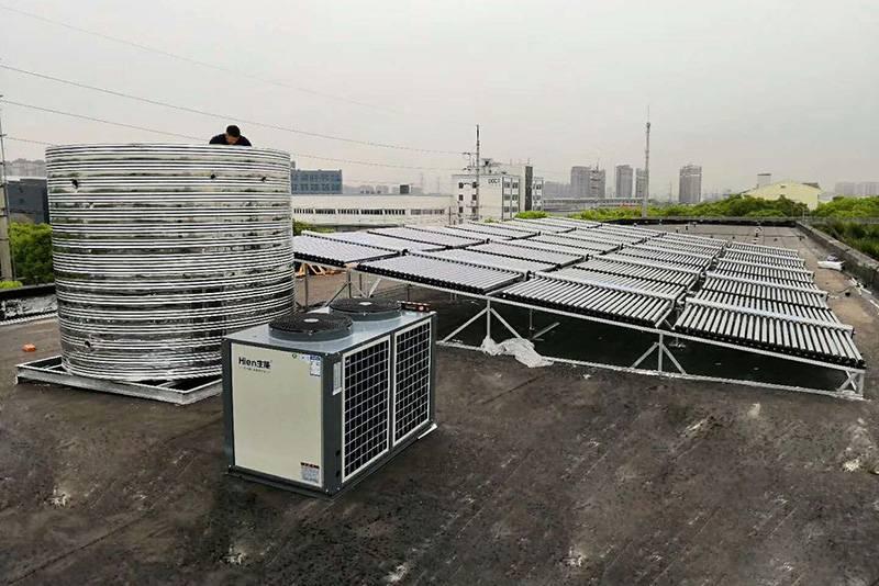 太阳能空气能二合一热水系统